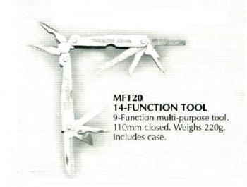 Deluxe 14-Function Multi Tool w/ Case