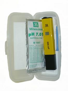 pH Tester w/1 Point Manual Calibration