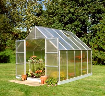 Magnum 108 10x8 Green powder coat Greenhouse