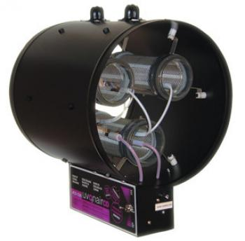 "10"" CD-In-Line Duct Ozonator Corona Discharge w/2 cells"