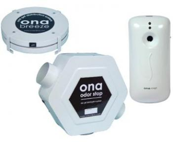 ONA DISPENSERS - ODOR STOP DISPENSER - 225 CFM FAN