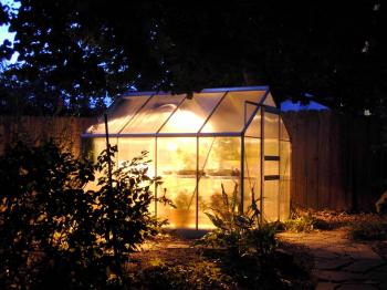 Popular 86 8x6 aluminum model Greenhouse
