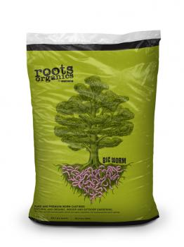 Roots Organics Big Worm Worm Castings, 1cf