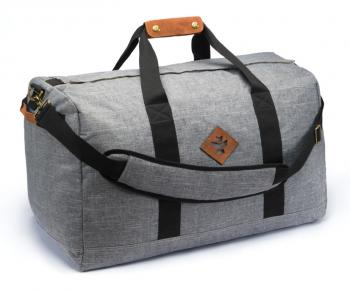 Revelry Supply The Around-Towner Medium Duffle, Crosshatch Grey