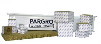 "Pargro Quick Drain 4""x4"" Wrapped, case of 72"