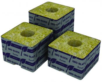 "Delta 4 Block, 3""x3""x2.5"" with hole, case of 384"