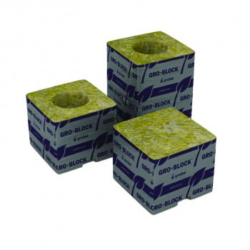 "Delta 4 Block, 3x3x2.5"", no hole, case of 384"