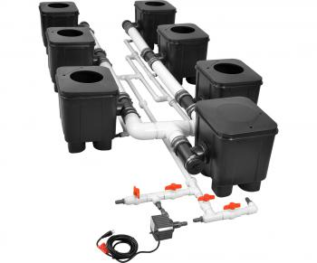 Slucket 8 Site Posiflow Complete System, 2 ft Center