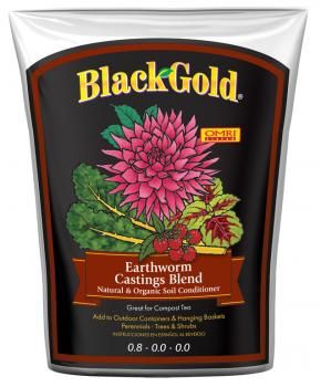 Black Gold Earthworm Castings, 16 qts