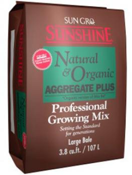 Sunshine Natural & Organic Aggregate Plus 3.8cf bale
