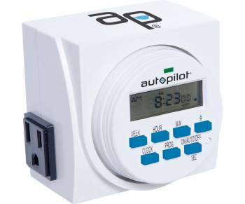 7 Day Dual Outlet Digital Timer, O-TYPE