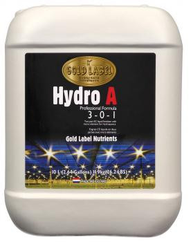 Gold Label Nutrients Hydro A, 10 L