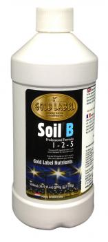 Gold Label Nutrients Soil B, 500 ml