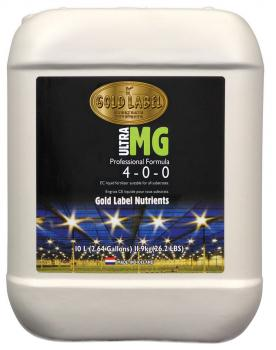 Gold Label Nutrients Ultra MG, 10 L