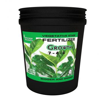 Growth 7-4-4 Vegetative Stage Fertilizer, 5 gal