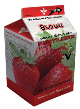 Vermicrop Bloom 3-10-5 Fruit and Flower Fertilizer, 4 lbs