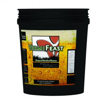 VermiFeast 2 Gal Compost Tea Food Source
