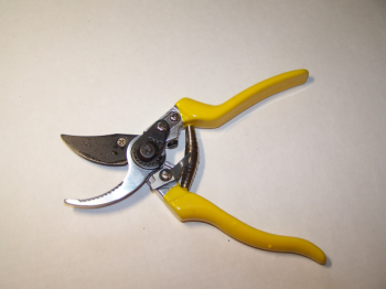 Heavy Duty Bypass Pruner w/Serrated Hook