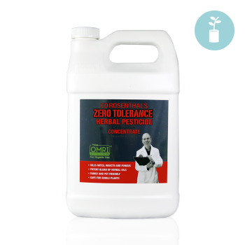 Zero Tolerance 1 Gal. Concentrate Herbal Pesticide