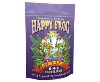 FOX FARM HAPPY FROG® ACID LOVING 6-4-4 - 4 LB BAG (8/CASE)