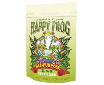 FOX FARM HAPPY FROG� ALL PURPOSE 5-5-5 - 4 LB BAG (8/CASE)