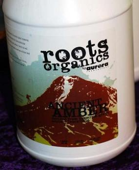 ROOTS ORGANICS ANCIENT AMBER - 2.5 GALLON SIZE
