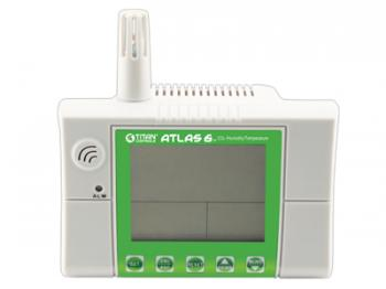 Atlas 6 � Wall mount/desktop CO2, Temperature and Humidity monitor