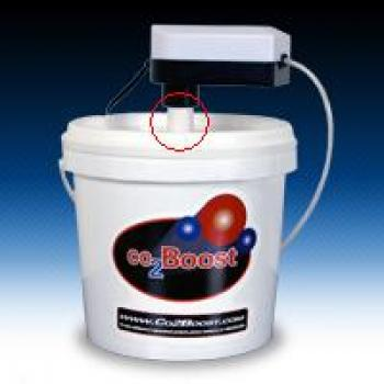 Co2Boost PVC Pipe Bucket & Pump Insert