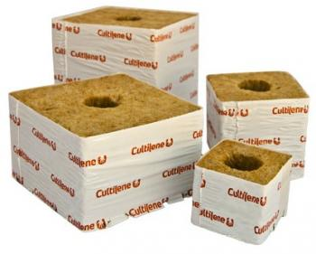 Cultilene Rockwool Blocks-6 x 6 x 6 in.      (case of 48 pieces)