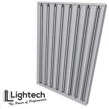 LighTech 4ft 8 Bulb T5 Fluorescent Light (Grow Bulbs) (No USPS)