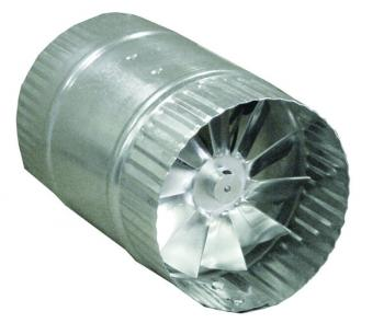 "DUCT FAN, 4"" IN-LINE, 80 CFM, W / POWER CORD"