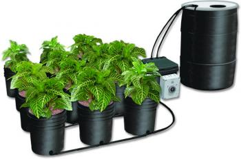 Ebb & Gro 55 Gallon Reservoir with Undrilled Cover