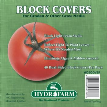 "6"" Block Cover (40 pack) (20/case)"