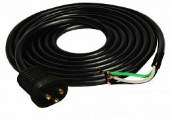 25' 16/3 600V Male Lock & Seal Cord UL