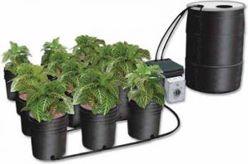 CAP 55 Gallon Reservoir with Driller cover