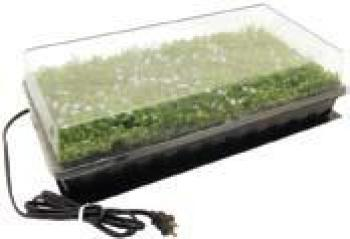 "Germination Station w/ Heat Mat, tray, 72 cell pack, 2"" dome (12/cs)"