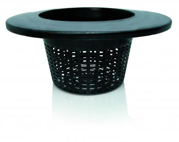 "8"" Wide Lip Bucket Basket, case of 25"