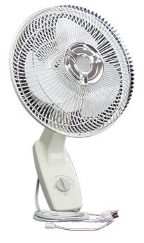 Wall Mount Oscillating Fan. 12 in