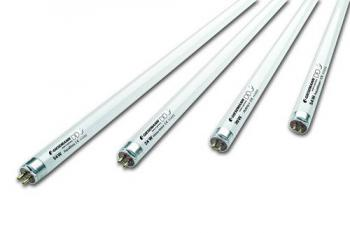 "POWER CHROME AQUA BLUE+ 24 WATT 24"" T-5 HIGH OUTPUT FLUORESCENT LAMP 11,000K (6/CASE)"
