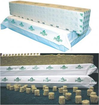 "PARGRO® STONEWOOL NEPTUNE BLOCKS - SMALL 4"" X 4"" X 2.5"" (6 STRIPS/WRAP) (36 WRAPS/CASE)"