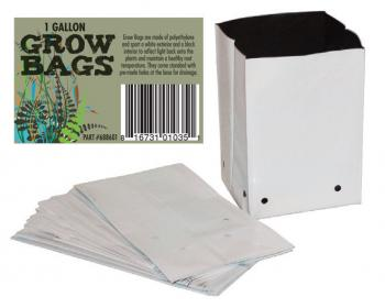Black & White PE Grow Bags-5 gal. (Pack of 25)