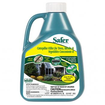 Safer Caterpillar Killer w/ BT, 16oz Concentrate
