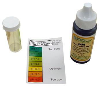 pH Test Kit.
