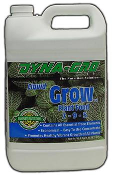 Grow 7-9-5. 1 Gallon