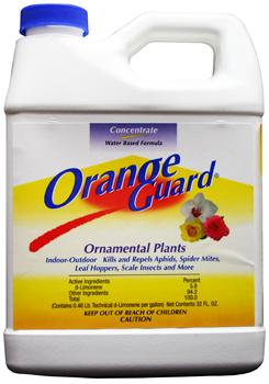 Orange Guard Ornamental Plants. 1 Quart