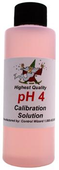 pH 4 Buffer Solution. 4 fl oz