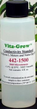1500 PPM Buffer Solution. 4 fl oz