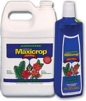 MAXICROP® LIQUID SEAWEED PLUS IRON 2% 0.1-0.0-1.0 - GALLON (6/CASE)