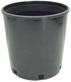 Plastic Pot. 8.5 in top x 8.5 in high
