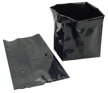 Plastic Grow Bag. 1 Gallon